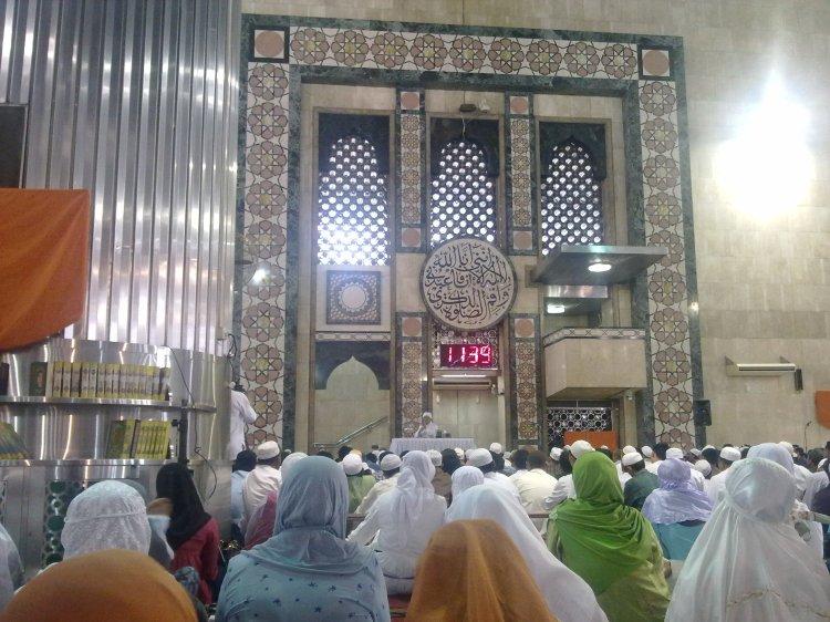 Majelis Management Qalbu Masjid Istiqlal, 12 Desember 2010